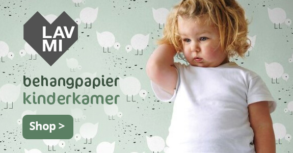 Kinderkamer behangpapier