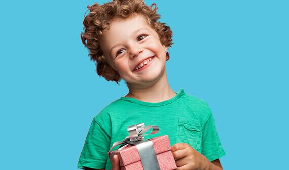 Cadeau voor jongens