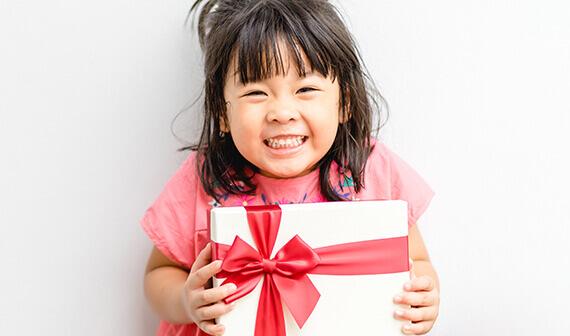 Cadeau voor meisjes