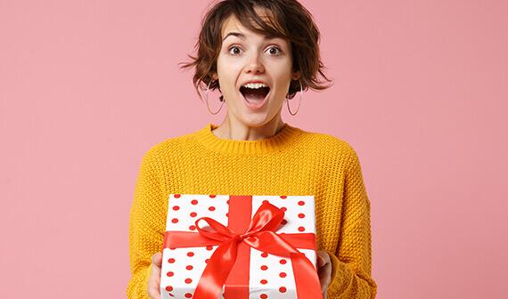 Cadeau voor vrouwen