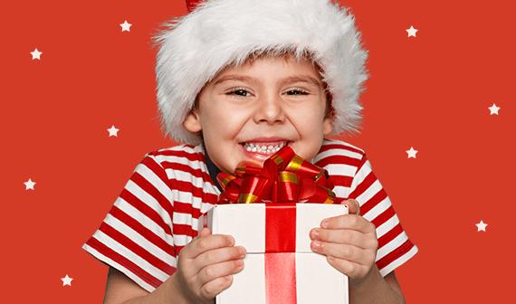 Kerstcadeau jongen
